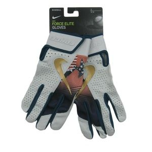 Nike Force Elite Baseball Batting Gloves Large